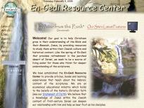 En-Gedi Home Page